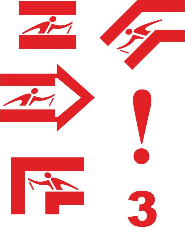 Przykładowe oznaczenia tras